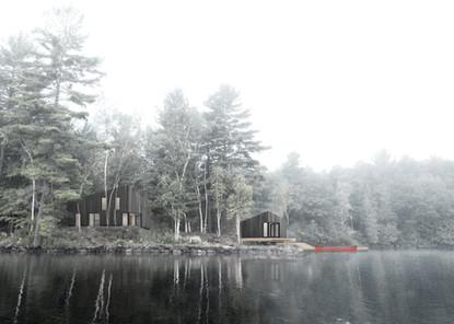 Cordova Lake Cottage Rendering