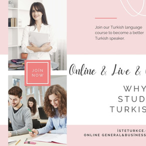 WHY STUDY TURKISH?