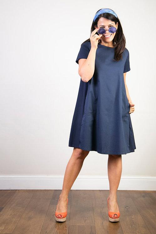 MADLEN שמלה כחולה