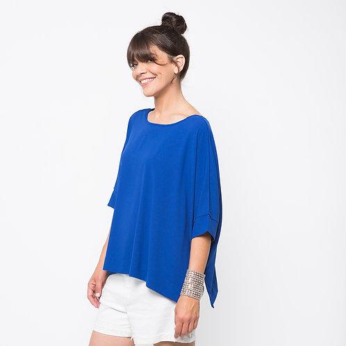 GOLDA חולצה דו צדדית כחולה