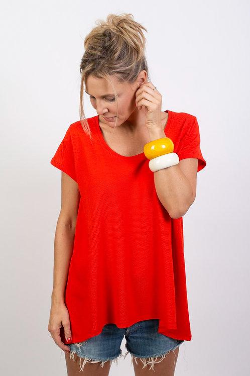BURI חולצה אדומה