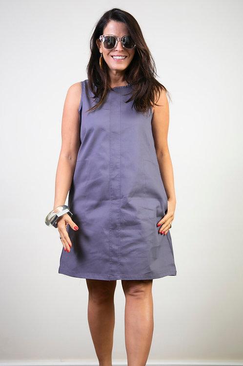 MALY שמלה אפור לוונדר
