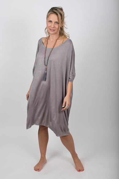 NIDAL שמלה אפורה