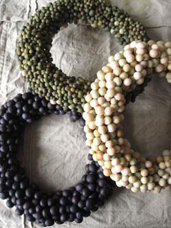 Beans Wreath