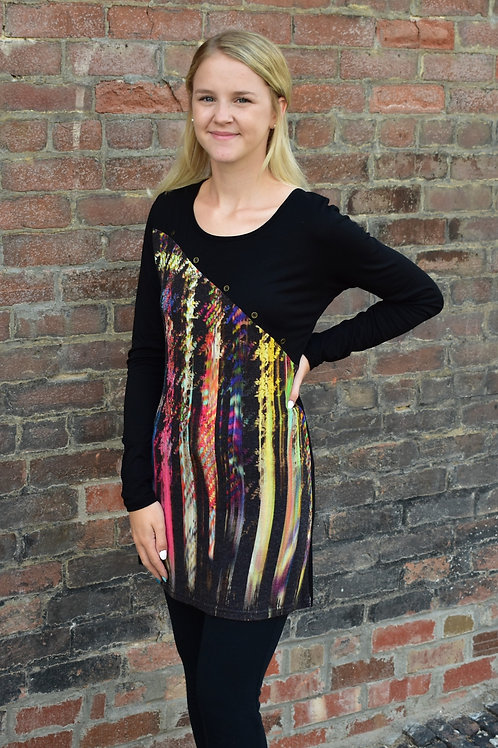 Lior Luxe Striped Dichotomy Long Sleeve