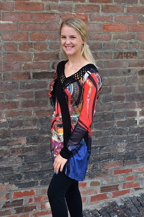 Lior Luxe Multi-Colored Long Sleeve