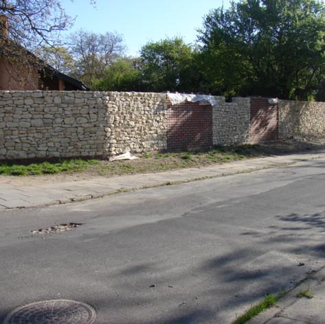 Ogrodzenie - Cisowa