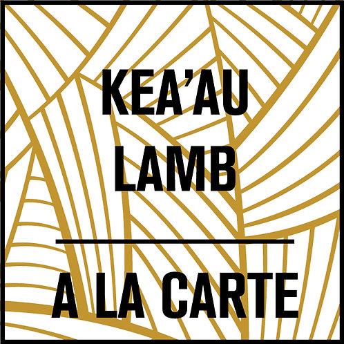 Kea'au Lamb A La Carte