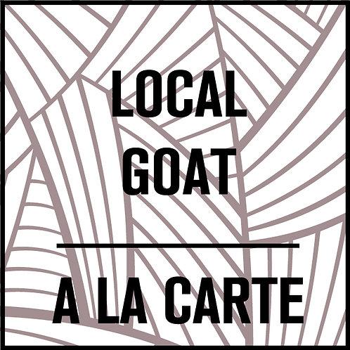 Local Goat A La Carte