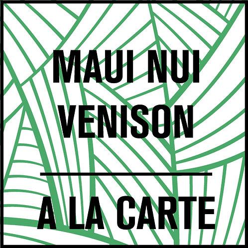Maui Nui Venison A La Carte