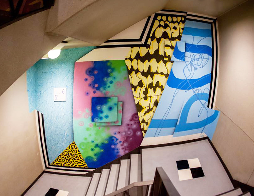 Mural at MAGNET Shibuya109