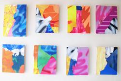 fragments of mural no.01〜no.08