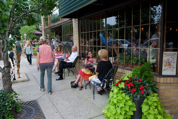 Gorgeous outdoor seating