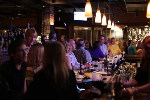 Bar scene provides enterainment galore