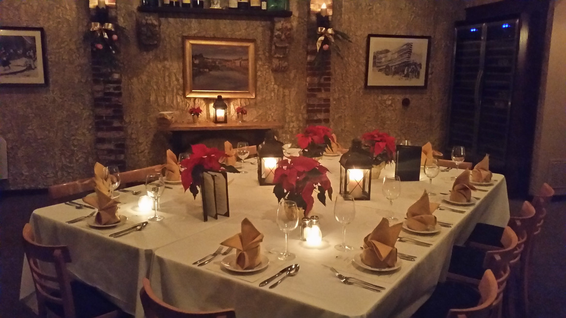 Private dining accomodations