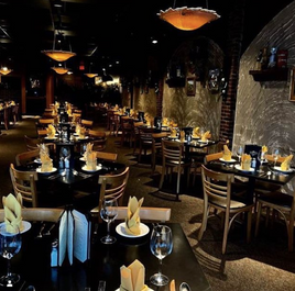 Intimate and elegant dining experience