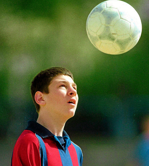 A los que juegan a ser Messi