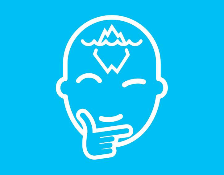 Iceberg Belief Icon