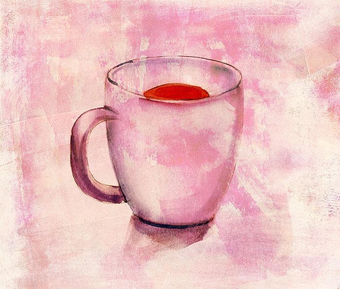 Tea Cup in Watercolor
