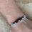 Thumbnail: Turquoise & Dalmation Chip Bracelet