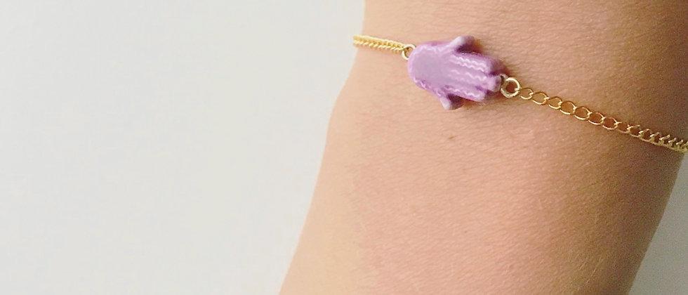 """Find Your Drishti"" 14k Bracelet"