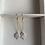 Thumbnail: Freshwater Pearl Coin Drop Earrings