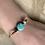 Thumbnail: Round Turquoise & Dalmation Stone Bracelt