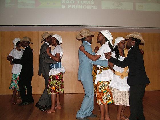 Cours de danse traditionnelle santoméenne