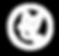 pictogramme oiseau tourterelle blanc.png