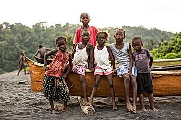 Enfants plage Io Grande - Photo Isabel S