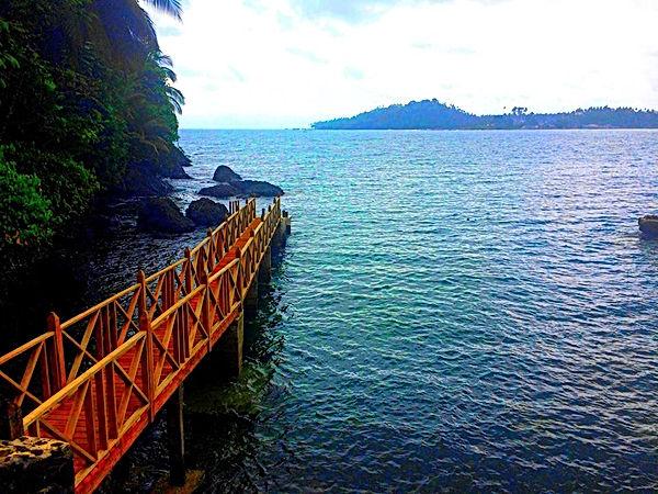 Photo Ponta Baleia São ToméIleu das Rolas São Toé