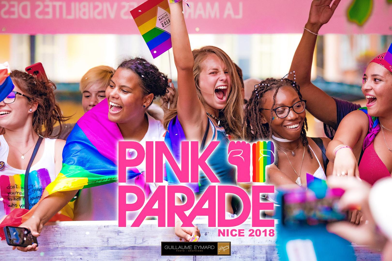 Pink Parade Gay pride nice