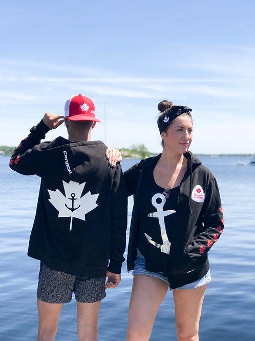 CANADA: Modern Fit Zip Hoodie