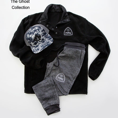 BOAT LIFE BADGE: Fleece Sweater 3/4 Button Up