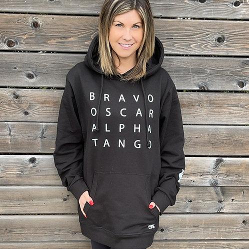 Bravo Oscar Alpha Tango Hoodie