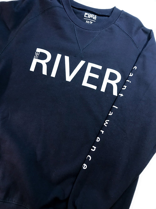 SAINT LAWRENCE: River Collection Crew Style Sweater