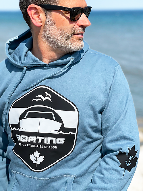 BOATING IS MY FAVOURITE SEASON - RELAXED HOODIE