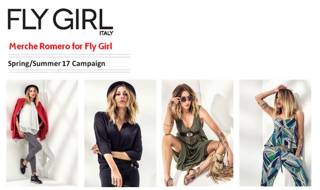Merche Romero para a Fly Girl SS17