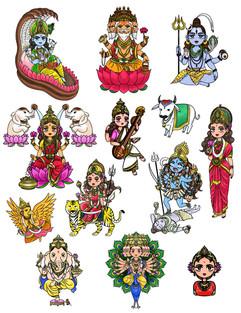 Hinduism Gods
