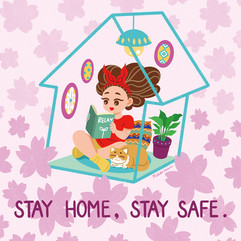 Stay Home, Stay Safe.