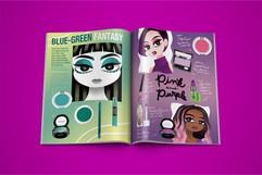 Makeup Magazine Mockup