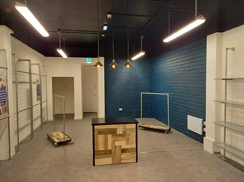 Sustainable Shop Furniture - Repurposed