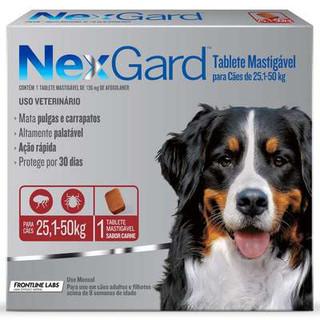 Nexgard 25,1 a 50kg
