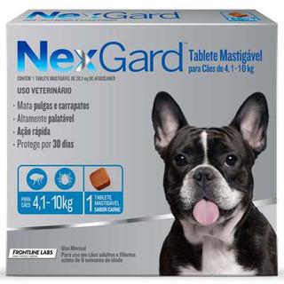Nexgard  4,1 a 10kg
