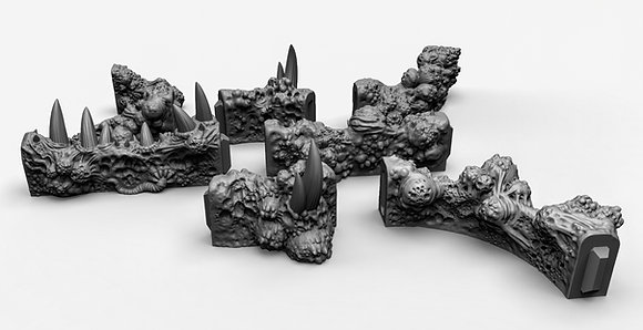 Plague Walls terrain