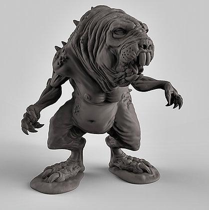 Brain mole/ Dire mole sculpt