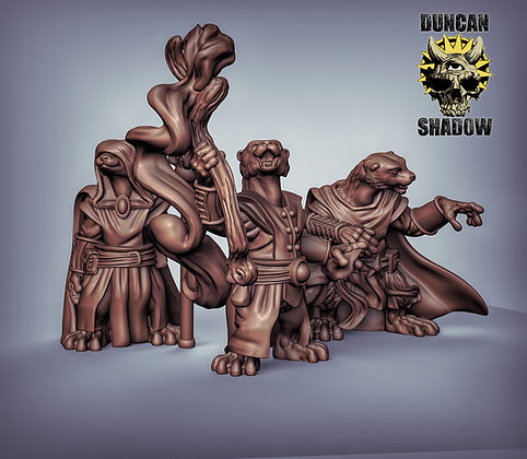 Otter folk wizards (pre supported)