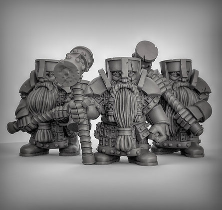 Dwarves With Great Hammers