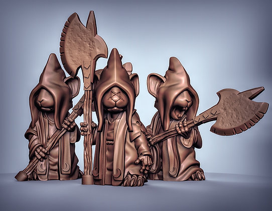 Mousle Cultist Troops (pre supported)