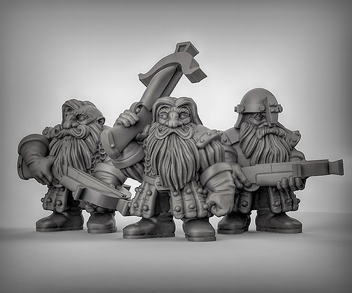 Dwarves with Crossbows